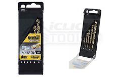 DeWalt DT4956 DT4956-QZ 6pc HSS E Cobalt Set Plastic Cassette