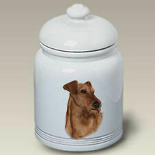 Irish Terrier Ceramic Treat Jar Tb 34220