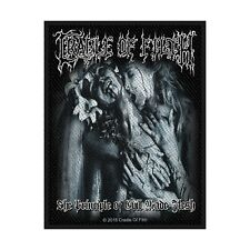 CRADLE OF FILTH PATCH / AUFNÄHER # 24 THE PRINCIPLE OF EVIL MADE FLESH - 10x8cm