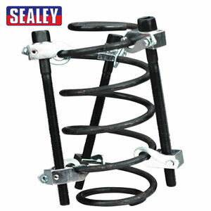 Sealey AK384 Car Coil Spring Remover Compressor/Clamp 3PC With Safety Hooks