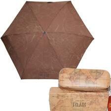 Prima Classe ombrello Alviero Martini piccolo borsa marrone geo pochette unisex