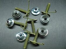 6 pc belt door body side moulding trim clips & nuts mastic sealer GM GMC NOS 410