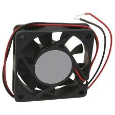 12V 60 x 60 x 25mm Brushless Fan UL 94V-0 (Pk-6)