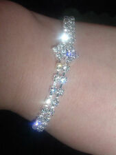 Silver Plated Crystal Costume Bracelets