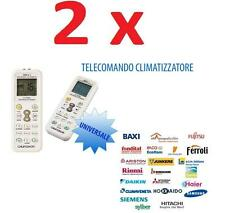 TELECOMANDO UNIVERSALE PER CLIMATIZZATORI CONDIZIONATORI TADIAIR TADIRAN TCL