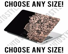 Rose Gold Medallion Bohemian Laptop Skin Decal Sticker Tablet Skin Vinyl Cover