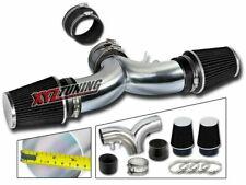 "3.5"" BLACK Dual Twin Short Ram Air Intake + Filter For 94-96 Impala/Caprice V8"