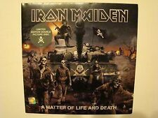 Iron Maiden ‎– A Matter Of Life And Death LP VINYL PICTURE