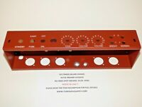 5C3 Chassis For TWEED DELUXE W/OCTAL PREAMP BRICK RED POWDERCOAT USA made