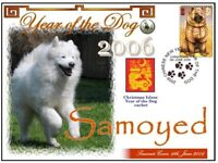 SAMOYED CHINATOWN YEAR OF THE DOG STAMP COVER 2