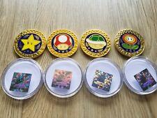 Nintendo Mario Kart Coins Limited Edition Rare Promo Collectible Official Golden