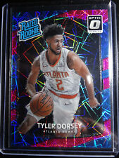 2017-18 Donruss Optic #157 Tyler Dorsey Hawks Pink Prizm Rated Rookie Card 10/79