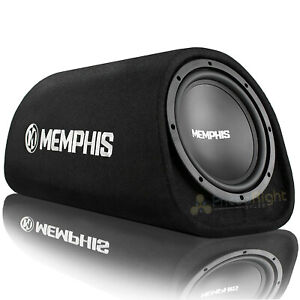 "Memphis Audio 8"" Powered Bass Tube Amp Vented 300W Max Street Reference SRX18SPT"