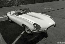 Vintage E Type Jaguar Car Picture Wall Art Photo Print Poster A3 A4