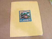 POG CLASSICS MILKCAPS COMPLETE SET OF 50 WITH PAGES