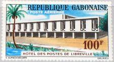 GABON GABUN 1963 183 C12 Libreville Post Office Postamt Gebäude Building MNH