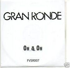 (790O) Gran Ronde, On & On - DJ CD