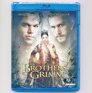Brothers Grimm PG-13 movie, new Blu-ray Matt Damon, Heath Ledger, Peter Stormare