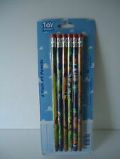 TOY STORY 6 Pack #2 Pencils Woody Buzz NEW in package Gr8 Gift FREE SHIP