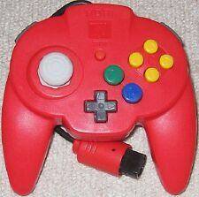 Nintendo 64 Hori Pad Mini 64 controller Red Japan N64