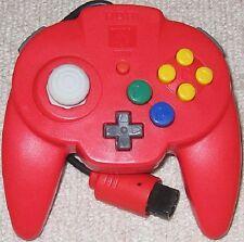 Nintendo 64 Hori Pad Mini 64 controller Red Japan N64