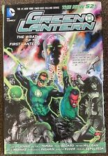 Green Lantern The Wrath Of The First Lantern The New 52 DC Comics Geoff Johns HC