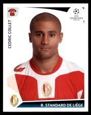 Panini Champions League 2009-2010 Cedric Collet R. Standard De Liège No. 544