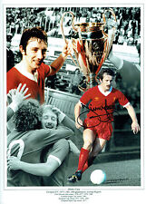 Jimmy CASE Signed Autograph Liverpool 16x12 Montage Photo AFTAL COA