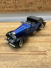 Franklin Mint 1933 Duesenberg Victoria 1:24 Precision Model Car G2