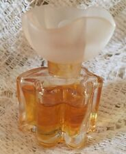 "Vintage  Mini  OSCAR DE LA RENTA PARFUM .14oz. 80%  FULL ""Dew drop"" flower top"