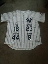 NY YANKEES SIGNED JERSEY BY