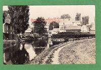 River Stort Mill RP pc used 1913 Harlow postmark Ref G463