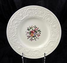 Two Vintage Wedgwood Patrician Dinner Plates - Swansea Pattern