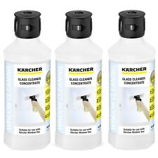 Karcher RM 500 Window Vac WV Vacuum Window Concentrate Cleaner 62957950 X3-500ml