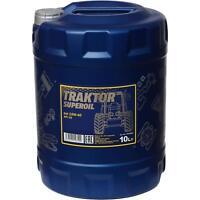10 Liter Orignal MANNOL Motoröl Traktor Superoil API CD 15W-40  Engine Oil Öl