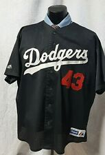 Los Angeles Dodgers Baseball Jersey Vintage Raul Mondesi #43 Majestic USA  2XL