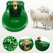 1pc Drinking Bowl Livestock Sturdy Farm Outlet Bowl Water Trough for Goats Pigs