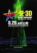 A3D AYUMI HAMASAKI ARENA TOUR 2009 A: NEXT LEVEL Movie POSTER 27x40 Japanese