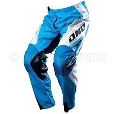 ONE Industries Carbon 'Carrera' MX Pants Blue size 28