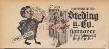 HANNOVER, Werbung 1950, Steding & Co. Milchstein Blitzextrakt STECO-Spezial