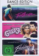 DVD NEU/OVP - Footloose / Grease / Flashdance - Dance-Edition