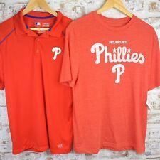 Philadelphia Phillies MLB Baseball Mens Medium Shirt Bundle