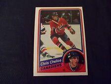 1984-85 OPC O-Pee-Chee #259 Chris Chelios Rookie Montreal Canadiens - nrmt/mt