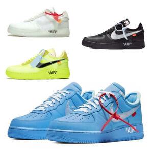 Air Force 1 OFF-WHITE MCA Low Herren Damen Sneaker Schuhe AO4606001 Gr.36-45