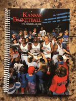 1991-92 Kansas Jayhawks Basketball Media Guide Yearbook