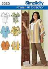 Simplicity Sewing Pattern 2230 Misses' / Women's Tunic Or Top