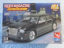 Amt Ertl 2005 Chrysler 300C Rides Magazine Custom Collection 1:25 Model Kit