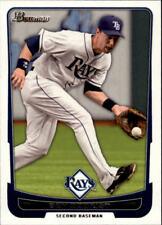 2012 Bowman Baseball #155 Ben Zobrist Tampa Bay Rays