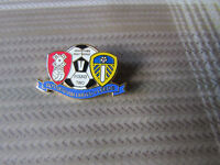 ROTHERHAM v LEEDS United Johnstones Paint Trophy Round Two FOOTBALL Pin Badge