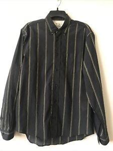 Acne Studios Mens Stripe Shirt Size 50 (L)
